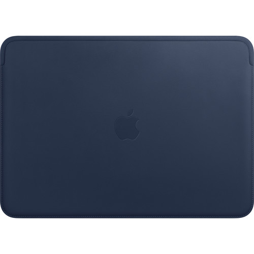 """Apple Leather Sleeve for 13.3"""" MacBook Pro (Midnight Blue)"""