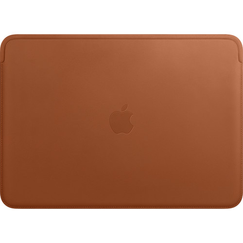 """Apple Leather Sleeve for 13.3"""" MacBook Pro (Saddle Brown)"""