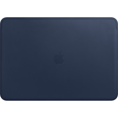 """Apple Leather Sleeve for 15.4"""" MacBook Pro (Midnight Blue)"""