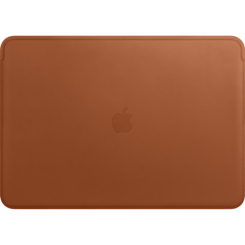 """Apple Leather Sleeve for 15.4"""" MacBook Pro (Saddle Brown)"""