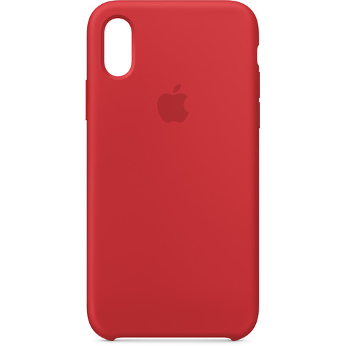 Apple iPhone Xs Silicone Case ((PRODUCT) RED)