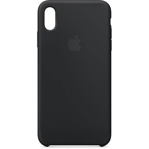 Apple iPhone Xs Max Silicone Case (Black)