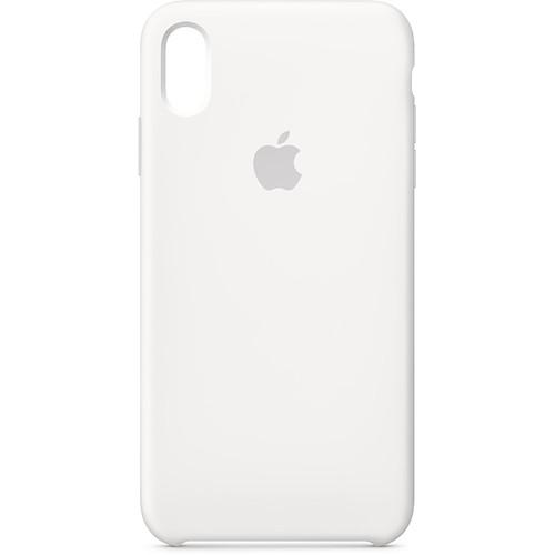 Apple iPhone Xs Max Silicone Case (White)