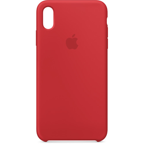 Apple iPhone Xs Max Silicone Case ((PRODUCT) RED)