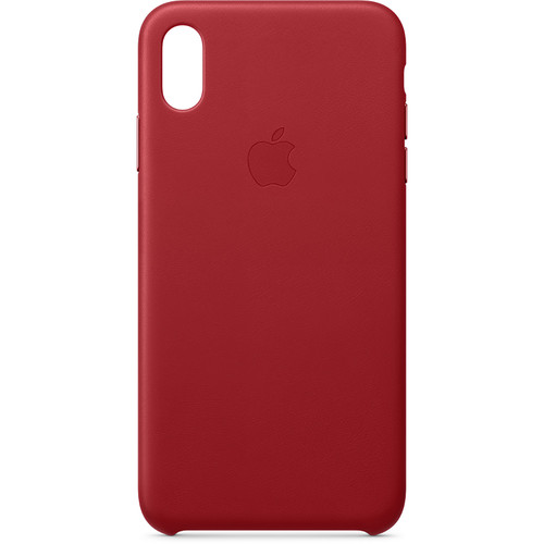 Apple iPhone Xs Max Leather Case ((PRODUCT) RED)