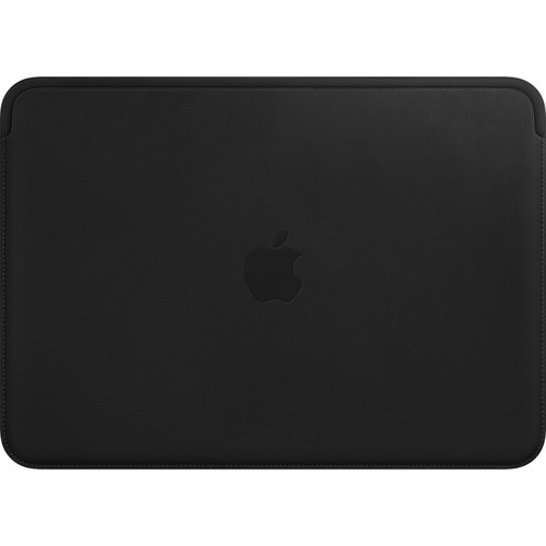 "Apple Leather Sleeve for 12"" MacBook (Black)"