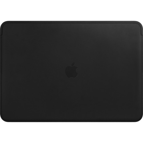 """Apple Leather Sleeve for 15.4"""" MacBook Pro (Black)"""