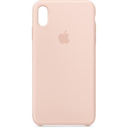 Apple iPhone Xs Max Silicone Case (Pink Sand)