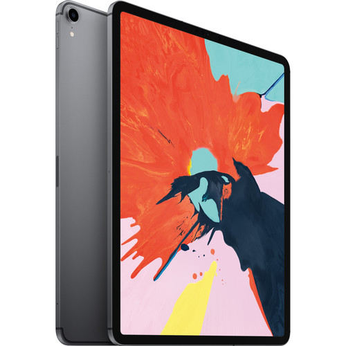 """Apple 12.9"""" iPad Pro (Late 2018, 256GB, Wi-Fi + 4G LTE, Space Gray)"""