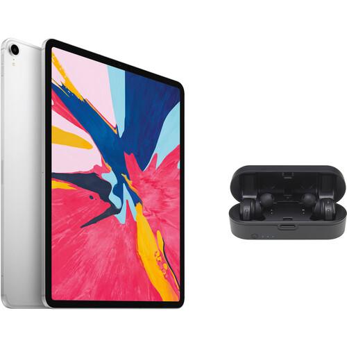 """Apple iPad Pro 12.9"""" (512GB, Wi-Fi + 4G LTE, Silver, Previous Gen)"""