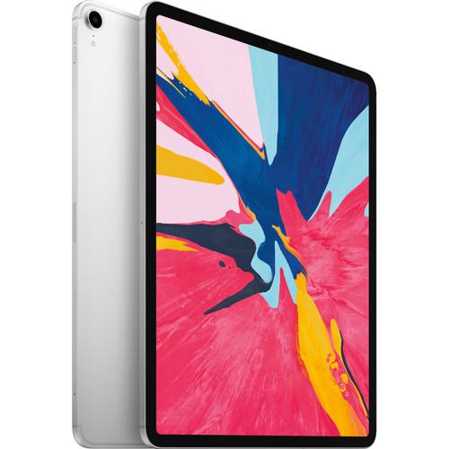 """Apple 12.9"""" iPad Pro (Late 2018, 1TB, Wi-Fi + 4G LTE, Silver)"""