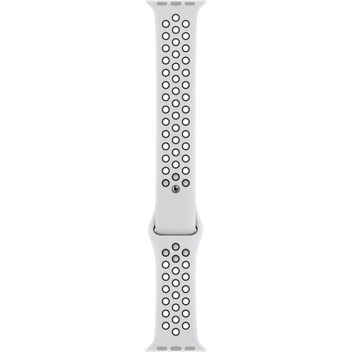 Apple Watch Nike Sport Band (38mm/40mm, Pure Platinum/Black)