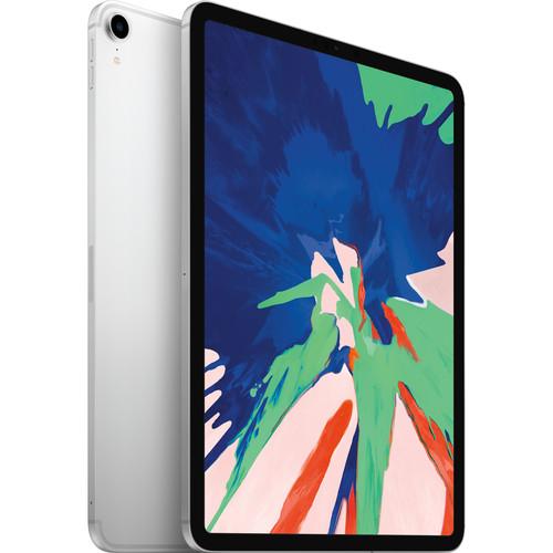 """Apple 11"""" iPad Pro (Late 2018, 512GB, Wi-Fi + 4G LTE, Silver)"""
