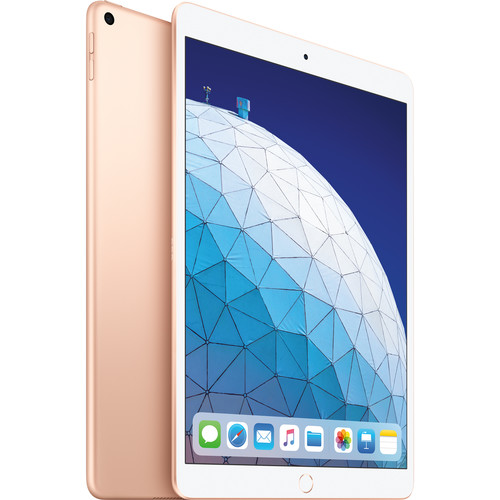 """Apple 10.5"""" iPad Air (Early 2019, 256GB, Wi-Fi Only, Gold)"""