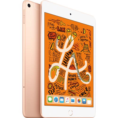 """Apple 7.9"""" iPad mini (Early 2019, 64GB, Wi-Fi + 4G LTE, Gold)"""