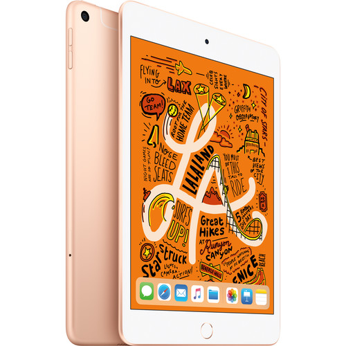 "Apple 7.9"" iPad mini (Early 2019, 256GB, Wi-Fi + 4G LTE, Gold)"