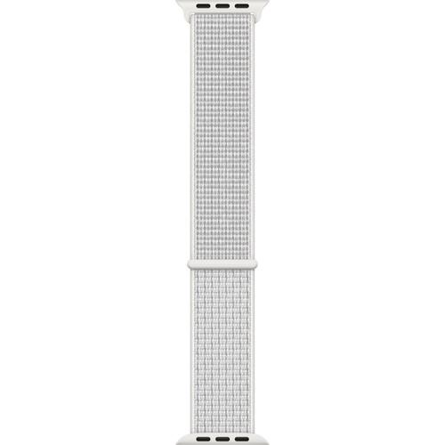 Apple Watch Nike Sport Loop Band (42mm/44mm, Summit White)