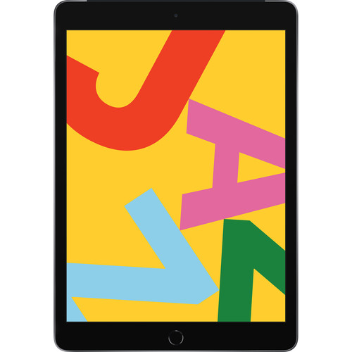"""Apple 10.2"""" iPad (Late 2019, 128GB, Wi-Fi + 4G LTE, Space Gray)"""