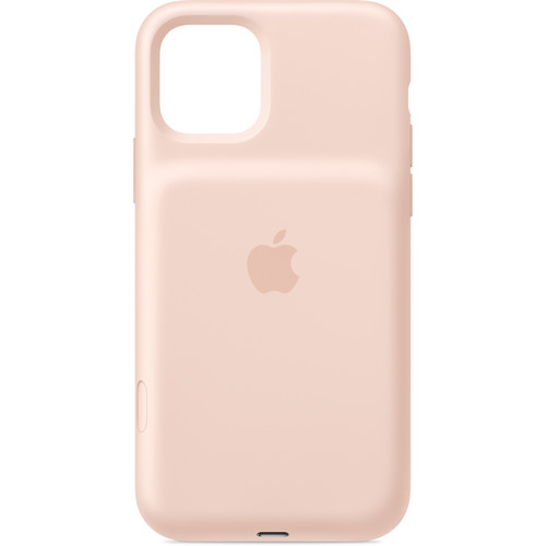 Apple Smart Battery Case with Wireless Charging for iPhone 11 Pro (Pink Sand)