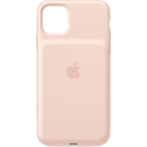 Apple Smart Battery Case with Wireless Charging for iPhone 11 Pro Max (Pink Sand)