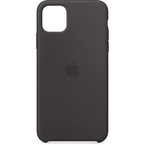 Apple Silicone Case for iPhone 11 Pro Max (Black)