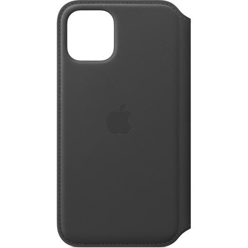 Apple Leather Folio Case for iPhone 11 Pro (Black)