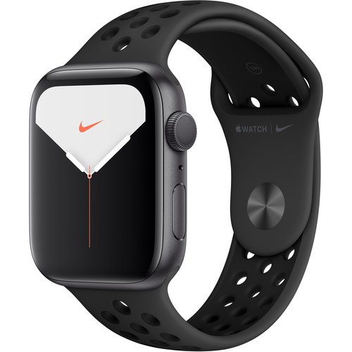Apple Watch Series 5 (Nike+/GPS Only, 44mm, Space Gray Aluminum, Anthracite/Black Nike Sport Band)
