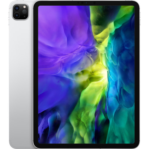 """Apple 11"""" iPad Pro (Early 2020, 512GB, Wi-Fi + 4G LTE, Silver)"""