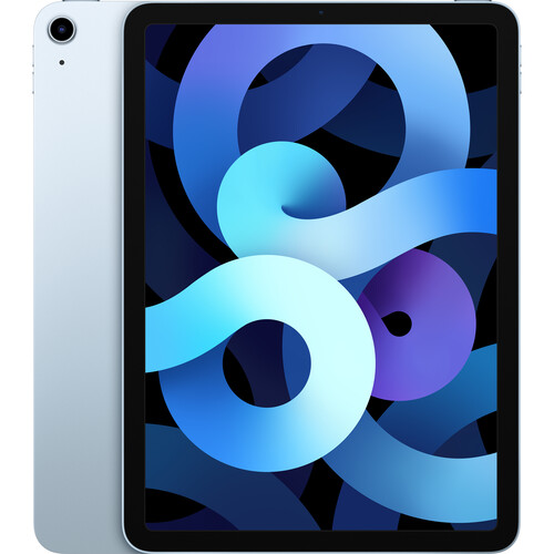 "Apple 10.9"" iPad Air (4th Gen, 64GB, Wi-Fi Only, Sky Blue)"