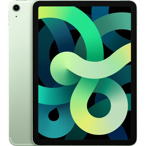 """Apple 10.9"""" iPad Air (4th Gen, 64GB, Wi-Fi + 4G LTE, Green)"""