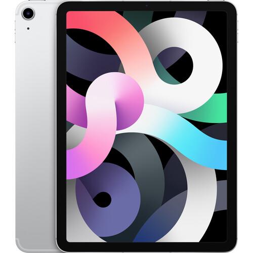 "Apple 10.9"" iPad Air (4th Gen, 256GB, Wi-Fi + 4G LTE, Silver)"