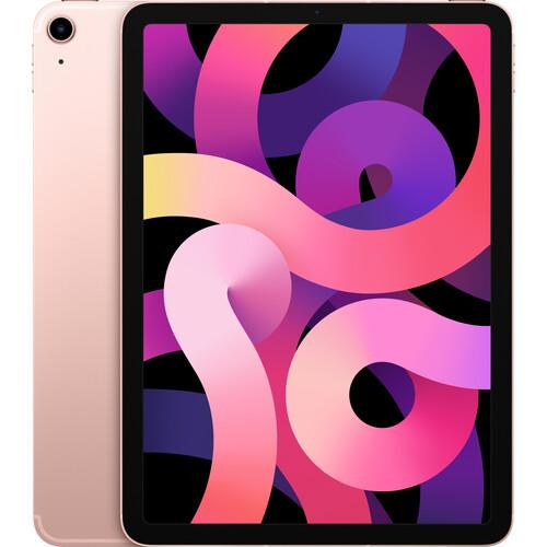 "Apple 10.9"" iPad Air (4th Gen, 256GB, Wi-Fi + 4G LTE, Rose Gold)"