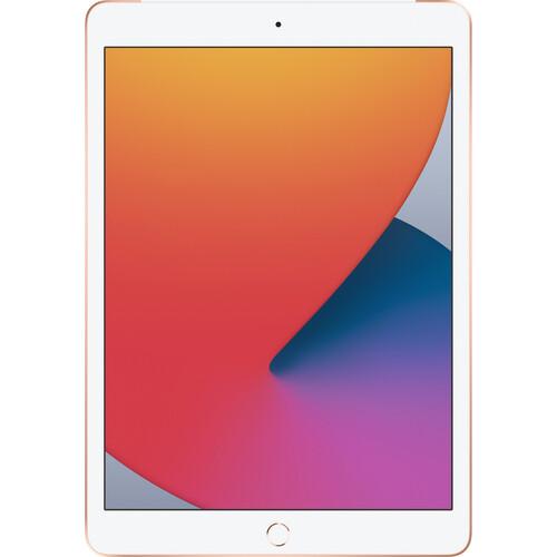 """Apple 10.2"""" iPad (8th Gen, 128GB, Wi-Fi + 4G LTE, Gold)"""