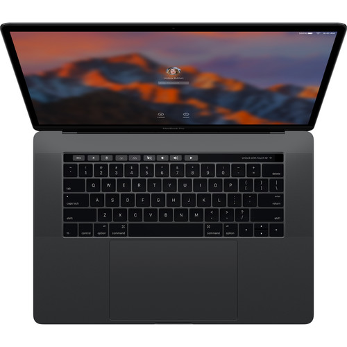 "Apple 15.4"" MacBook Pro with Touch Bar (Danish Keyboard, Late 2016, Space Gray)"