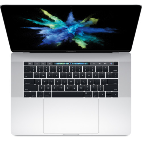 """Apple 15.4"""" MacBook Pro with Touch Bar (Danish Keyboard, Late 2016, Silver)"""