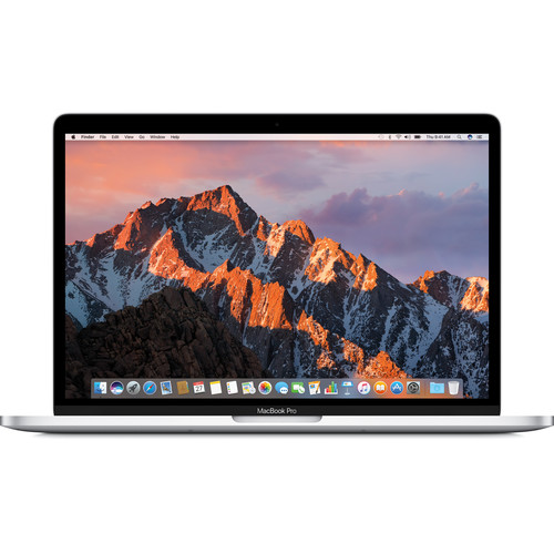 """Apple 13.3"""" MacBook Pro with Touch Bar (Russian Keyboard, Mid 2017, Silver)"""