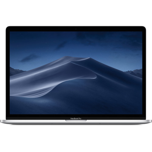 """Apple 15.4"""" MacBook Pro with Touch Bar (Mid 2018, Silver)"""