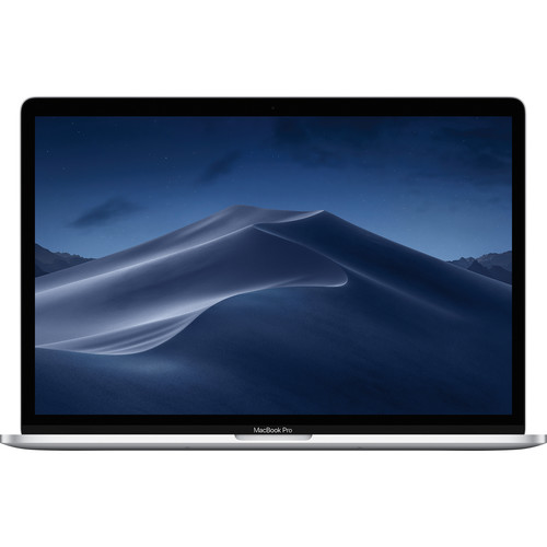 """Apple 15.4"""" MacBook Pro with Touch Bar (Mid 2019, Silver)"""
