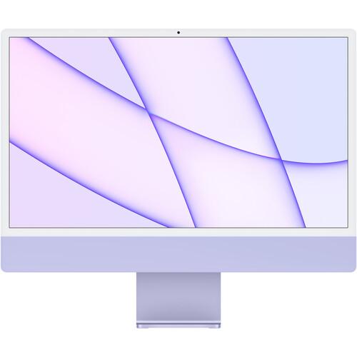 "Apple 24"" iMac with M1 Chip (Mid 2021, Purple)"