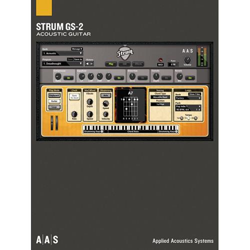Applied Acoustics Systems Strum GS-2 Acoustic Guitars - Virtual Instrument