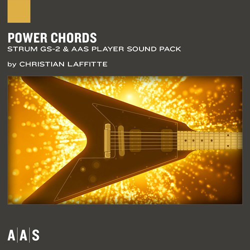 Applied Acoustics Systems Power Chords - Guitar Sound Pack for Strum GS-2 and AAS Player (Download)