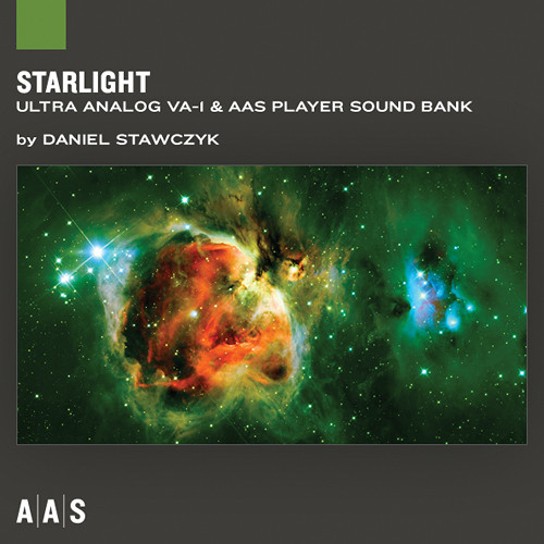 Applied Acoustics Systems Starlight Sound Bank & AAS Player Virtual Instrument Plug-in