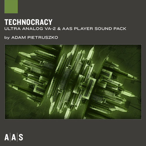 Applied Acoustics Systems Technocracy Techno Sound Pack for Ultra Analog VA-2 & AAS Player (Download)