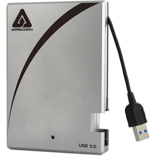 """Apricorn 2.5"""" Aegis 256GB USB 3.1 Gen 1 External Solid State Drive"""