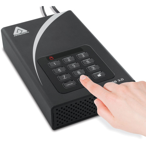 Apricorn 6TB Aegis Padlock DT USB 3.0 External Desktop Drive