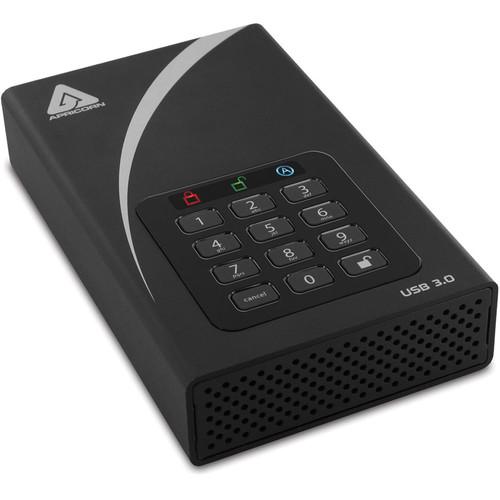Apricorn 1TB Aegis Padlock DT USB 3.0 External Desktop Drive