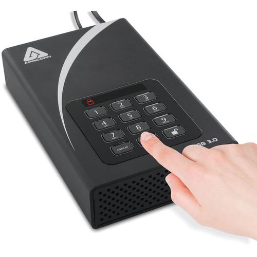 Apricorn 3TB Aegis Padlock DT USB 3.0 External Desktop Drive