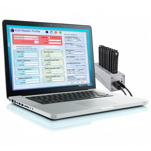 Apricorn Aegis Configurator On USB Key Bundled With 10-Port USB Hub (5 Amp Power Supply).