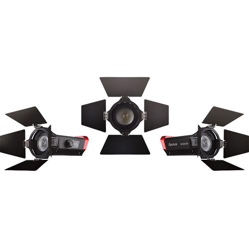 Aputure LS-mini20 3-Light Flight Kit