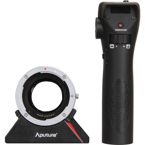 Aputure DEC Wireless Focus & Aperture Controller Lens Adapter for EF and EF-S-Mount Lenses to MFT-Mount Cameras